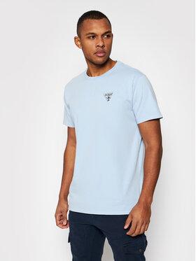 Guess Guess T-Shirt M1GI56 K8HM0 Niebieski Regular Fit