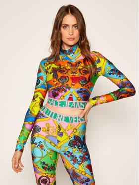 Versace Jeans Couture Versace Jeans Couture Bluzka B2HZA736 Kolorowy Slim Fit