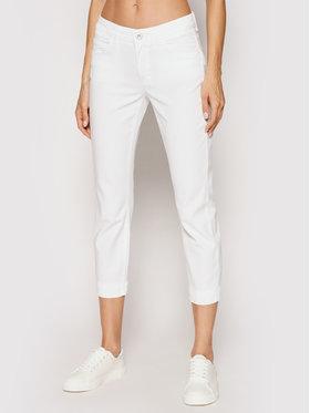 Marc O'Polo Marc O'Polo Kalhoty z materiálu 104 0099 11005 Bílá Slim Fit