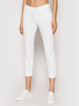 Marc O'Polo Marc O'Polo Pantalon en tissu 104 0099 11005 Blanc Slim Fit