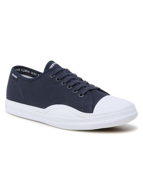 Tretorn Tretorn Sneakers aus Stoff Racket 480128 Dunkelblau