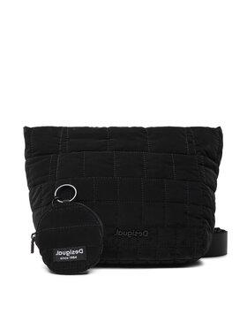 Desigual Desigual Дамска чанта 21WAXA16 Черен