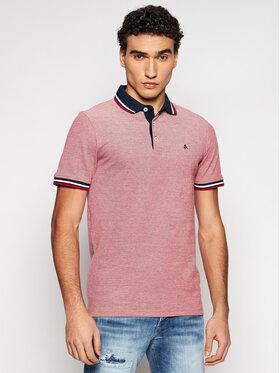 Jack&Jones Jack&Jones Polo marškinėliai Paulos 12136668 Raudona Slim Fit