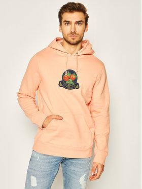 HUF HUF Felpa Tenderloin Rose Crest PF00211 Arancione Regular Fit