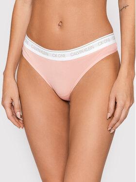 Calvin Klein Underwear Calvin Klein Underwear Stringi 000QF5733E Różowy