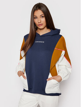 Converse Converse Sweatshirt 10021057-A03 Bleu marine Regular Fit