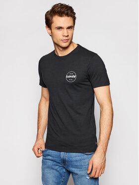 Levi's® Levi's® Marškinėliai Graphic Tee 67983-0014 Juoda Slim Fit
