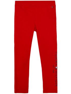 TOMMY HILFIGER TOMMY HILFIGER Colanți Essential Hwk KG0KG05183 M Roșu Slim Fit