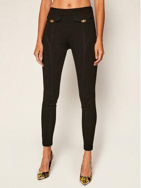 Versace Jeans Couture Versace Jeans Couture Szövet nadrág D5HZB165 Fekete Slim Fit