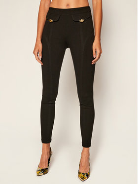 Versace Jeans Couture Versace Jeans Couture Текстилни панталони D5HZB165 Черен Slim Fit