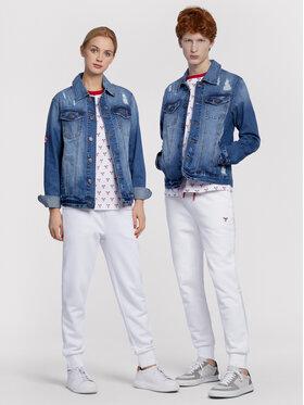 Vistula Vistula Kurtka jeansowa Unisex Pino Set RX1052 Niebieski Regular Fit
