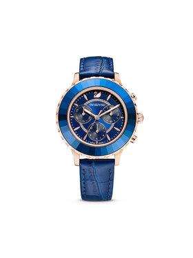 Swarovski Swarovski Laikrodis Octea Lux Chrono 5563480 Tamsiai mėlyna