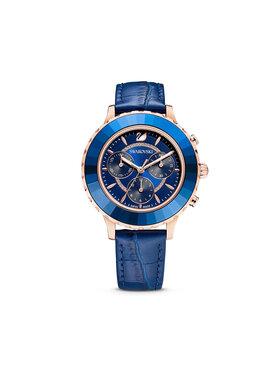 Swarovski Swarovski Zegarek Octea Lux Chrono 5563480 Granatowy