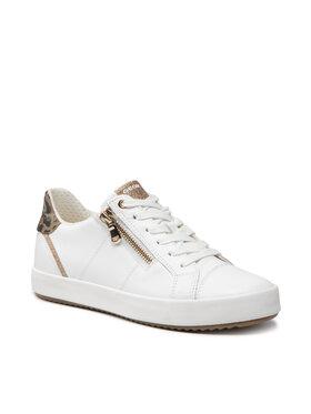 Geox Geox Sneakersy D Blomiee C D156HC 08507 C1ZD3 Biela