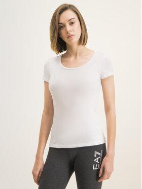 EA7 Emporio Armani EA7 Emporio Armani T-shirt 8NTT64 TJ28Z 1100 Blanc Regular Fit