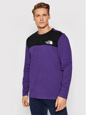 The North Face The North Face Тениска с дълъг ръкав Himalayan NF0A3XYBV0G1 Виолетов Regular Fit