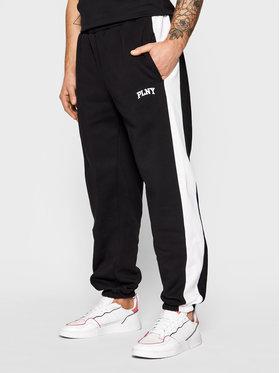 PLNY Textylia PLNY LALA Jogginghose Stanford PT-SP-K2-00003 Schwarz Regular Fit