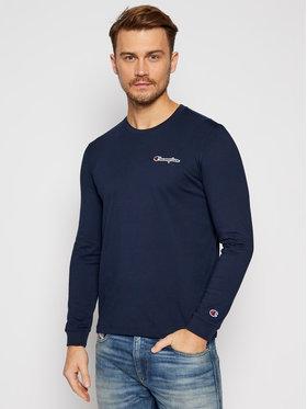 Champion Champion Marškinėliai ilgomis rankovėmis 214782 Tamsiai mėlyna Comfort Fit