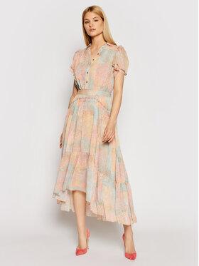 Marciano Guess Marciano Guess Sukienka koszulowa 1GG738 9528Z Pomarańczowy Regular Fit