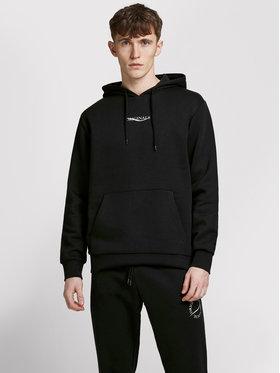Jack&Jones Jack&Jones Sweatshirt Relias 12195574 Schwarz Oversize