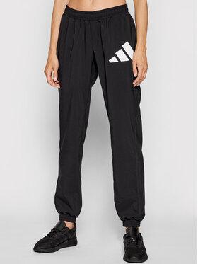 adidas adidas Долнище анцуг 3 Bar Logo Warm-Up GL0675 Черен Regular Fit