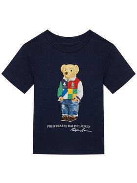 Polo Ralph Lauren Polo Ralph Lauren T-Shirt Ss Cn 323838244002 Tmavomodrá Regular Fit