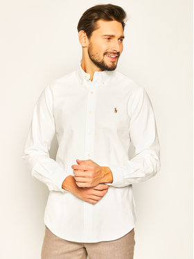 Polo Ralph Lauren Polo Ralph Lauren Koszula Core Replen 710792041 Biały Custom Fit