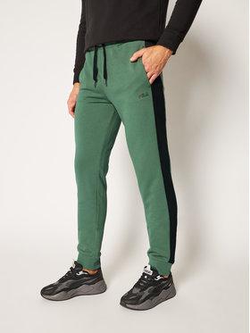 Fila Fila Teplákové nohavice Lars Sweat 683187 Zelená Regular Fit