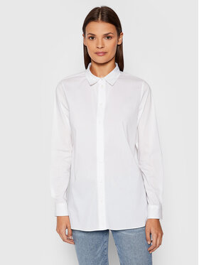 Selected Femme Selected Femme Риза Fori 16074365 Бял Regular Fit