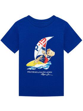 Polo Ralph Lauren Polo Ralph Lauren Marškinėliai Ss Cn 323838249002 Mėlyna Regular Fit