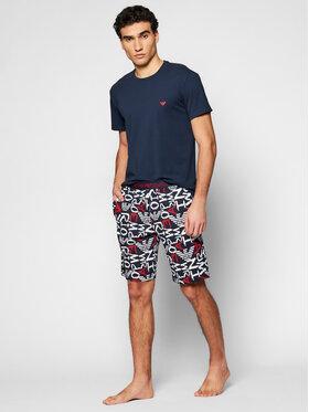 Emporio Armani Underwear Emporio Armani Underwear Пижама 111893 1P509 75335 Тъмносин