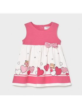 Mayoral Mayoral Φόρεμα καθημερινό 1811 Ροζ Regular Fit