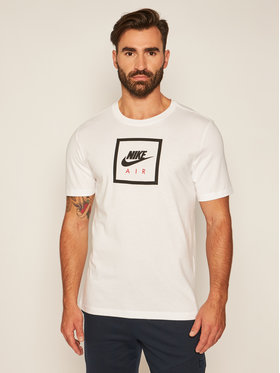 Nike Nike T-Shirt Air BV7639 Bílá Standard Fit