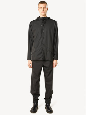 Rains Rains Giacca impermeabile Unisex Essential 1201 Nero Regular Fit