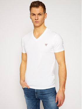 Guess Guess Marškinėliai M1RI32 J1311 Balta Super Slim Fit