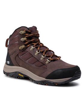 Columbia Columbia Chaussures de trekking 100MW Mid Outdry BM0812 Marron