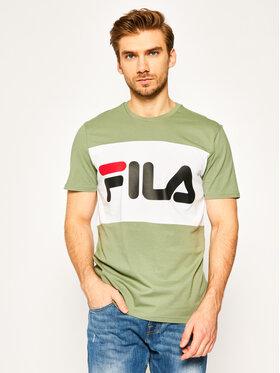 Fila Fila T-shirt Day Tee 681244 Verde Regular Fit