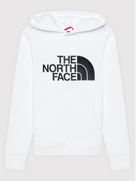 The North Face The North Face Суитшърт Unisex Drew Peak NF0A33H4 Бял Regular Fit