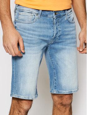 Guess Guess Short en jean M1GD01 D4B73 Bleu Slim Fit