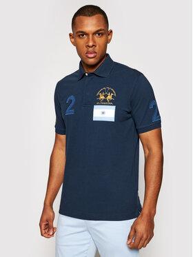 La Martina La Martina Polo marškinėliai RMP317 PK097 Tamsiai mėlyna Regular Fit