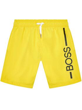 Boss Boss Pantaloncini da bagno J24682 M Giallo Regular Fit
