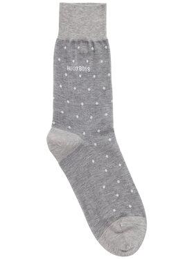 Boss Boss Чорапи дълги мъжки George Rs Dot Mc 50392507 Сив