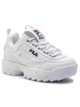 Fila Fila Sneakersy Disruptor Kids 1010567.1FG Biały