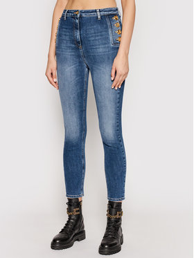 Elisabetta Franchi Elisabetta Franchi Jeans PJ-02I-11E2-V370 Dunkelblau Skinny Fit