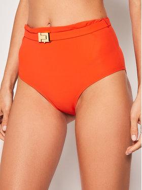 Tory Burch Tory Burch Dół od bikini T-Belt High-Waisted Bottom 61384 Pomarańczowy
