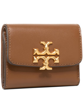 Tory Burch Tory Burch Mali ženski novčanik Elenor Compact Wallet 73519 Smeđa