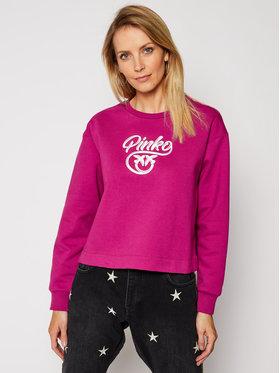 Pinko Pinko Bluza Buffy Felpa Al 20-21 PRR 1N12XY Y75F Fioletowy Regular Fit