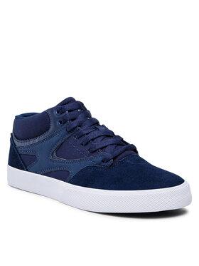 DC DC Sneakers Kalis Vulc Mid ADYS300622 Bleu marine