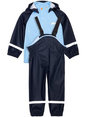Helly Hansen Helly Hansen Komplektas: neperšlampanti striukė ir kelnės Bergen 40360 Tamsiai mėlyna Regular Fit