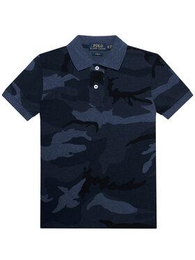 Polo Ralph Lauren Polo Ralph Lauren Polo marškinėliai Custom 323836692002 Tamsiai mėlyna Regular Fit